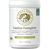 Wholistic Pet Organics Canine Complete All-in-One Supplement, 1-lb
