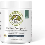 Wholistic Pet Organics Canine Complete All-in-One Supplement, 2-lb