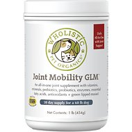 Wholistic Pet Organics Canine Complete Joint Mobility with Green Lipped Mussel Supplement, 1-lb