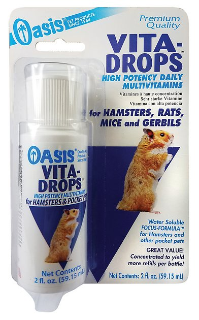 Mouse Model Yields Possible Treatment >> Oasis Vita Drops Daily Multivitamin Hamster Rat Mouse Gerbil