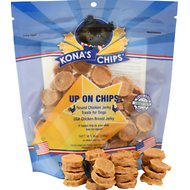 Kona's Chips Up On Chips Round Chicken Jerky Dog Treats, 8-oz