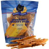 Kona's Chips Chicken Jerky Dog Treats, 16-oz bag