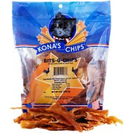 Kona's Chips Bits-O-Chips Chicken Jerky Dog Treats, 8-oz