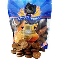 Kona's Chips Liver Licks Dog Treats, 16-oz bag