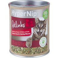 Petlinks Hypernip Silvervine & Catnip Blend, 0.75-oz canister