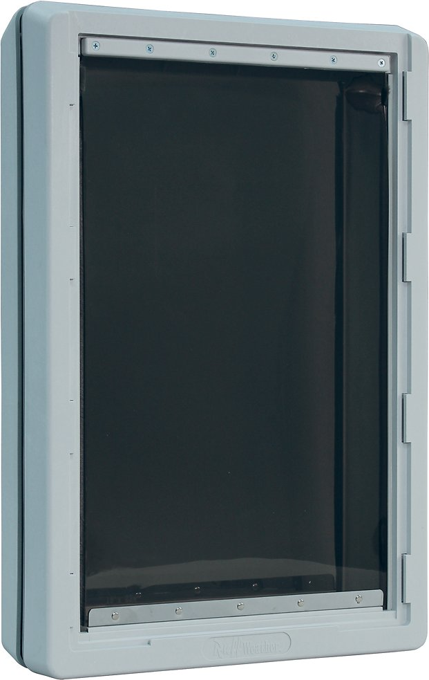 Ideal Pet Products Designer Series Ruff Weather Pet Door Tinted