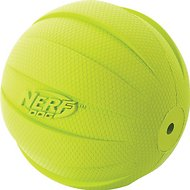 Nerf Dog Squeak Ball Dog Toy, Large, Green