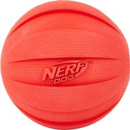 Nerf Dog Squeak Ball Dog Toy, Large, Red