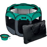 Ruff 'N Ruffus Portable Foldable Pet Play Pen, Large