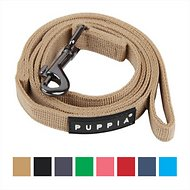 Puppia Two Tone Dog Leash, Large, Beige