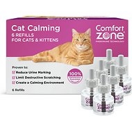 Comfort Zone Calming Cat Diffuser Refill, 6 count