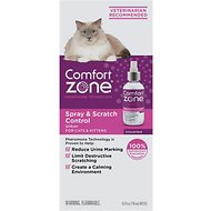 Comfort Zone Spray & Scratch Control Calming Cat Spray, 4-oz
