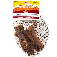 Venison Joe's Hickory Smoked Beef Ligaments Dog Treats, 6 count