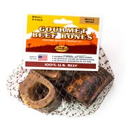 Venison Joe's Hickory Smoked Small Beef Bone Dog Treats, 3 count