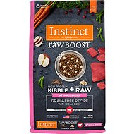 Instinct by Nature's Variety Raw Boost Small Breed Grain-Free Recipe with Real Beef Dry Dog Food, 10-lb bag