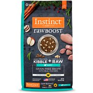Instinct Raw Boost Puppy Grain-Free Recipe with Real Chicken & Freeze-Dried Raw Pieces Dry Dog Food, 10-lb bag