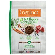Instinct by Nature's Variety Be Natural Real Lamb & Oatmeal Recipe Dry Dog Food, 24-lb bag