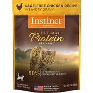 Instinct by Nature's Variety Ultimate Protein Grain-Free Cage-Free Chicken Recipe Wet Cat Food Topper, 3-oz, case of 24