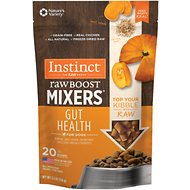 Instinct by Nature's Variety Freeze Dried Raw Boost Mixers Grain-Free Gut Health Recipe Dog Food Topper, 5.5-oz bag