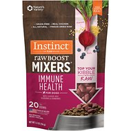 Instinct by Nature's Variety Freeze Dried Raw Boost Mixers Grain-Free Immune Health Recipe Dog Food Topper, 5.5-oz bag