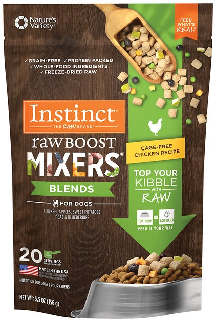Instinct By Natures Variety Freeze Dried Raw Boost Mixers Blends