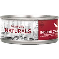 Diamond Naturals Indoor Hairball Control Adult Canned Cat Food, 5.5-oz, case of 24