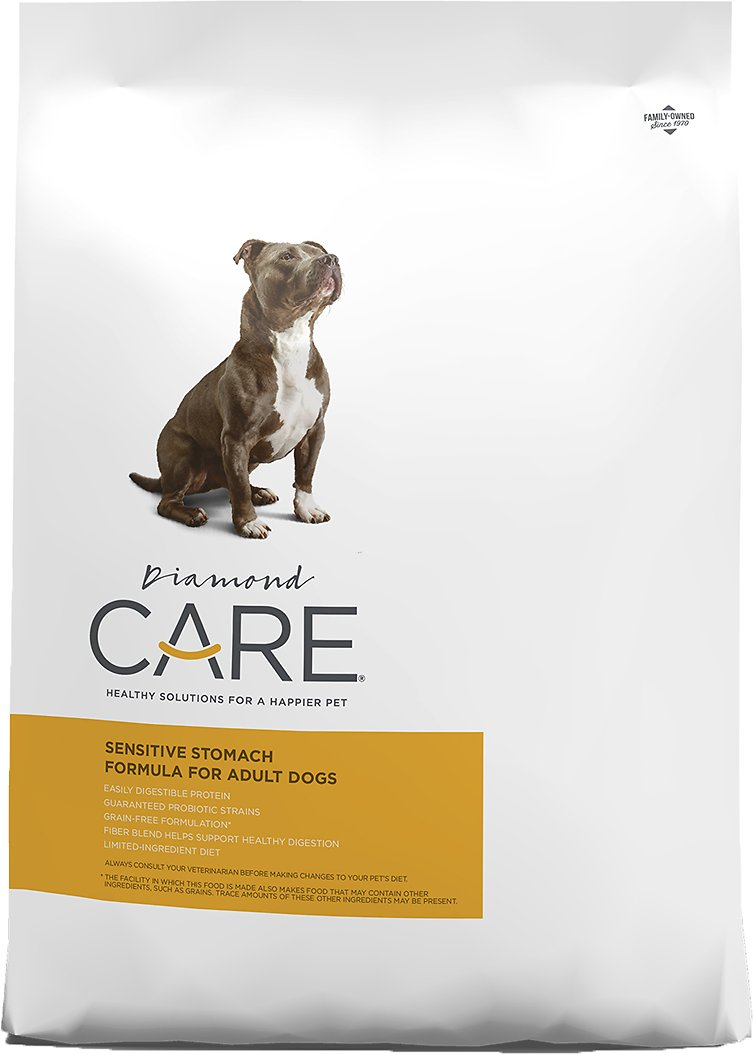 Diamond Care Sensitive Stomach Formula Adult Grain Free Dry Dog Food