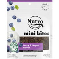 Nutro Mini Bites Berry & Yogurt Flavor Dog Treats, 8-oz bag