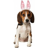 Rubie's Costume Company Dog & Cat White Bunny Ears, Small/Medium