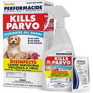Performacide Kills Parvo Disinfectant & Deodorizer Kit, 32-oz bottle