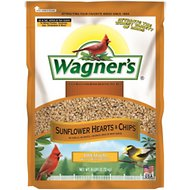 Wagner's Sunflower Hearts & Chips Premium Wild Bird Food, 6-lb bag