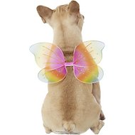 Rubie's Costume Company Dog & Cat Rainbow Fairy Wings, Medium/Large