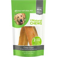 Only Natural Pet Cheesy Chews Dog Chew, 2 count