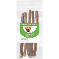 Only Natural Pet Free-Range Bully Stick Dog Chew, 12-in