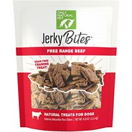 Only Natural Pet Jerky Bites Beef Grain-Free Dog Treats, 4-oz bag