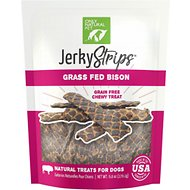 Only Natural Pet Jerky Strips Bison Grain-Free Dog Treats, 6-oz bag