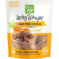 Only Natural Pet Jerky Wraps Chicken & Carrot Grain-Free Dog Treats, 4.5-oz bag