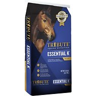 Tribute Equine Nutrition Essential K Horse Feed, 50-lb bag