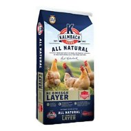 Kalmbach Feeds All Natural Layer Omegga Crumbles Chicken Feed, 50-lb bag