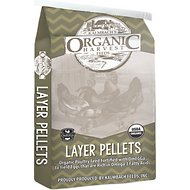Kalmbach Organic Harvest Omegga Layer Pellets Chicken Feed, 25-lb bag