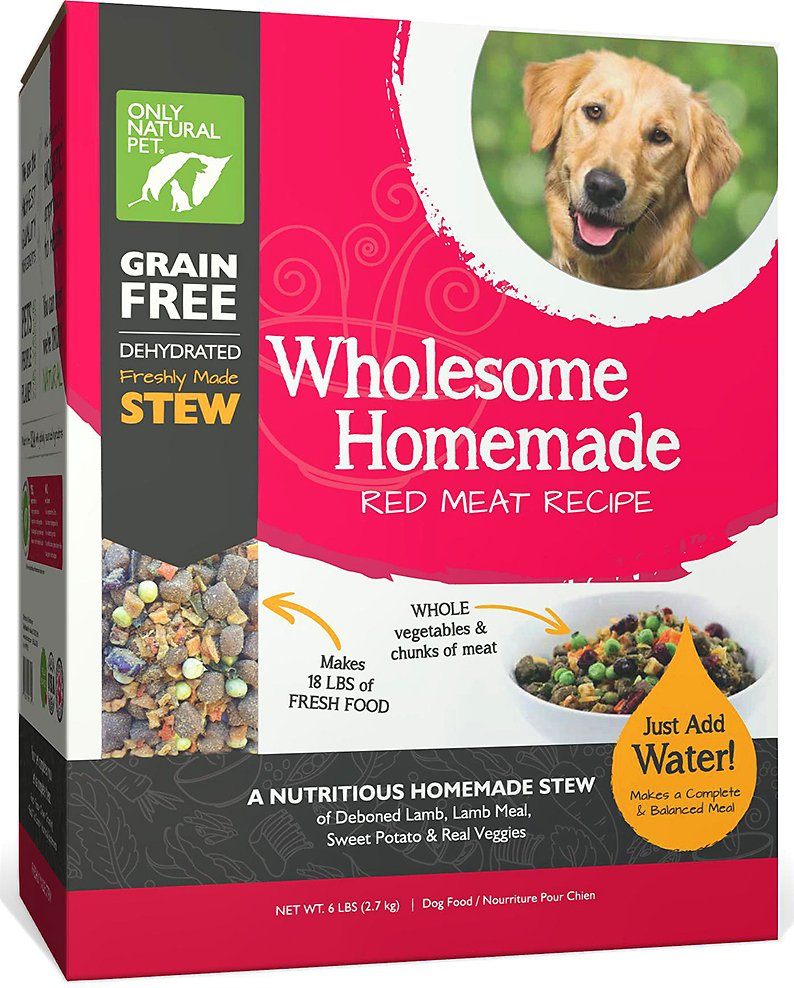 Only Natural Pet Wholesome Homemade Red