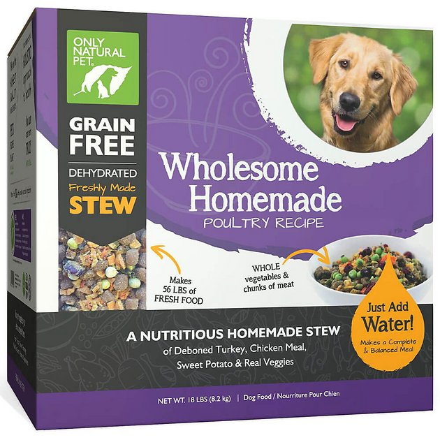 Only Natural Pet Wholesome Homemade Poultry Recipe Grain Free