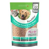 Only Natural Pet RawNibs Venison & Liver Grain-Free Freeze-Dried Dog & Cat Food, 10-oz bag