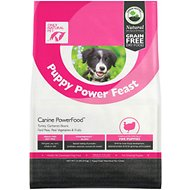 Only Natural Pet Canine PowerFood Puppy Power Feast Grain-Free Dry Dog Food, 13-lb bag