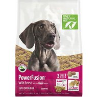 Only Natural Pet PowerFusion Wild Feast Grain-Free Raw Infused Dry Dog Food, 4-lb bag