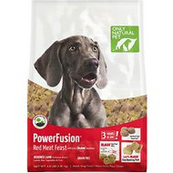 Only Natural Pet PowerFusion Red Meat Feast Grain-Free Raw Infused Dry Dog Food, 4-lb bag