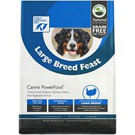 Only Natural Pet Canine PowerFood Large Breed Feast Grain-Free Dry Dog Food, 22.5-lb bag