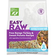 Only Natural Pet EasyRaw Turkey & Sweet Potato Raw Grain-Free Dehydrated Dog Food, 2-lb bag
