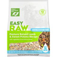 Only Natural Pet EasyRaw Lamb & Sweet Potato Raw Grain-Free Dehydrated Dog Food, 2-lb bag