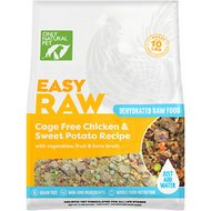 Only Natural Pet EasyRaw Chicken & Oats Raw Dehydrated Dog Food, 2-lb bag